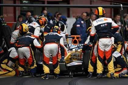 Alonso reconoce que aún les falta medio segundo