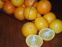 La naranja, fuente de vitamina C