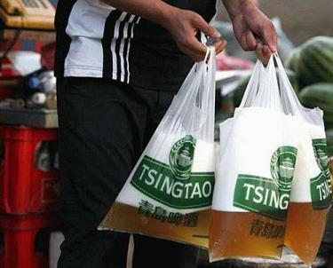 ¿Cuántas bolsas de cerveza?