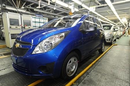 Fabricación del Chevrolet Spark en Changwon