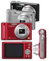 Nuevas compactas de Panasonic: Lumix FX60, FP8 y ZX1