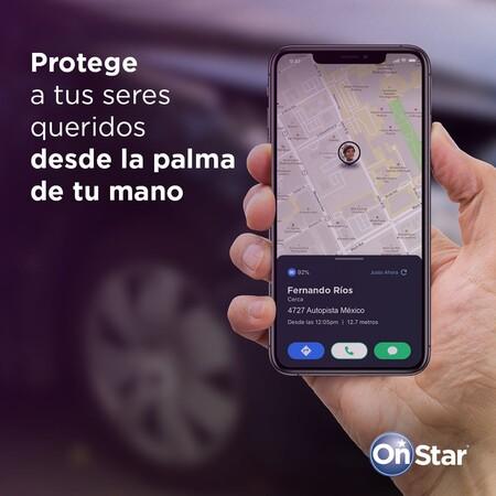 OnStar Guardian llega a México: GM usará los sensores de tu smartphone para detectar choques y encontrar personas extraviadas