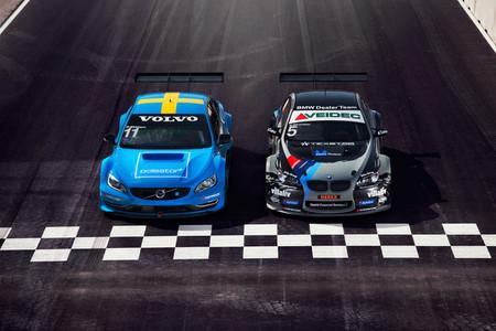 BMW y Volvo por Bilbilder