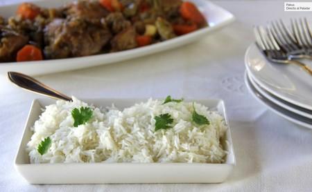 Cómo hacer arroz basmati para guarnición