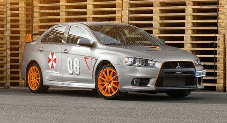 SchwabenFolia Mitsubishi Lancer Evolution Stealth Fighter