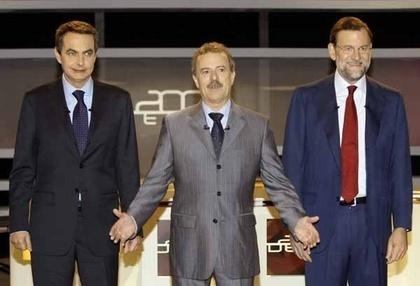 El debate Zapatero-Rajoy bate récords con 13 millones de espectadores