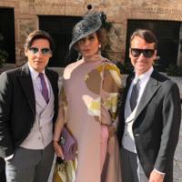 Naty Abascal y Vega Royo-Villanova, dos invitadas que arrasan en la boda de Alejandra de Rojas