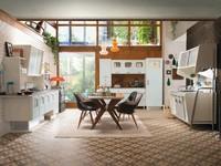 Viaja en el tiempo con esta cocina retro, estilo años 50, de Marchi Cucine