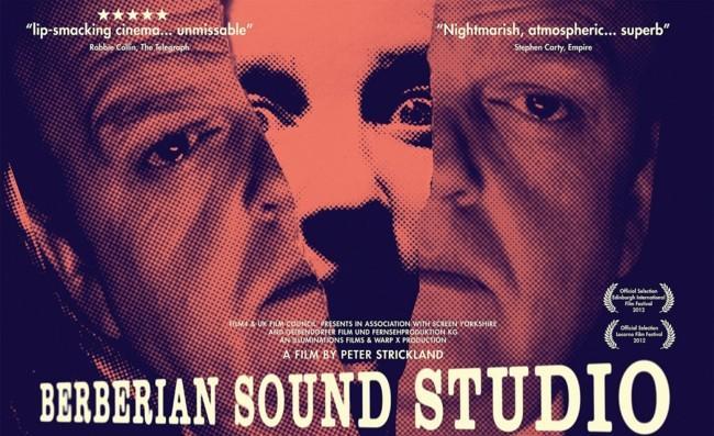 Poster Berberian Sound Studio Pelicula