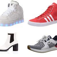 Chollos en tallas sueltas de zapatillas y botas find,  Etnies, Adidas o Skechers por 20 euros o menos en Amazon