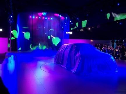 Presentación del Saab 9-X BioHybrid Concept un día antes del Salón de Ginebra