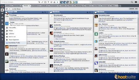 Hootsuite añade Nimble CRM, StockTwits y YUPIQ a su catálogo de aplicaciones