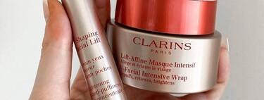 Clarins lanza un serum para el contorno de ojos y una mascarilla que ayudan a reducir la hinchazón