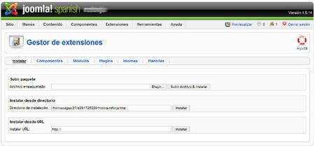 Extensiones de Joomla