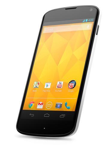 LG Nexus White
