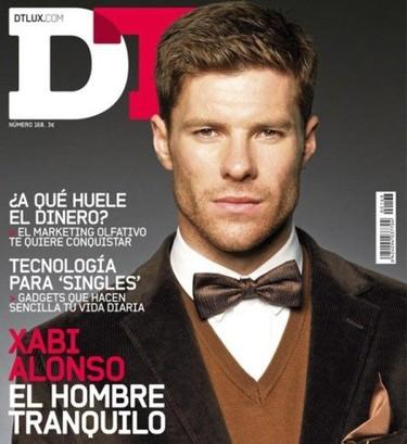 Xabi Alonso en la portada de DT reinventando la pana