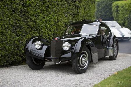 "Bugatti Type 57SC Atlantic de 1938, ""Lo mejor"" de Villa D'este"