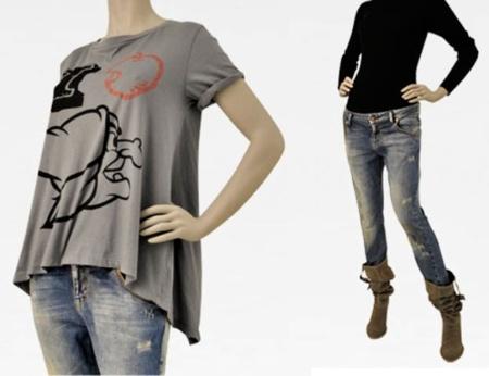 camiseta bruja blancanieves zara vaquero pantalon ajustado pitillo