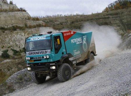 De Rooy preparado para el Dakar 2012