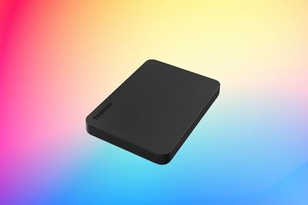 El disco duro portátil que arrasa en ventas en Amazon es de Toshiba, tiene 1TB de capacidad y cuesta 40 euros