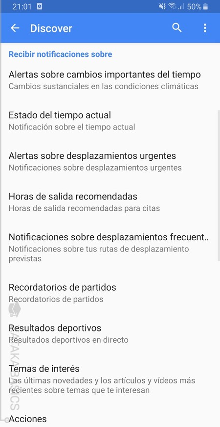 Mas Notificaciones