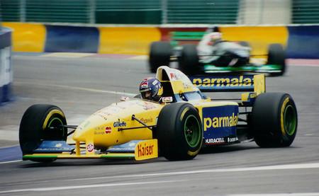 Pedro Paulo Diniz Adelaide 1995 Forti Corse