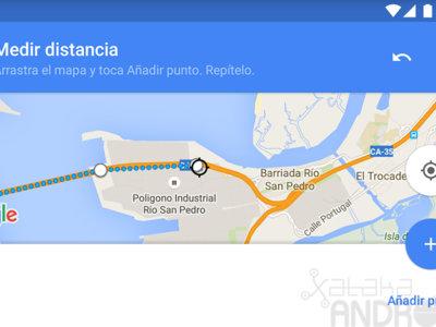 Cómo medir distancias con Google Maps para Android