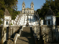 Braga: el Santuario de Bom Jesus y su funicular