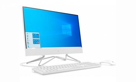 Este ordenador all in one es una ganga en MediaMarkt: HP 22-df0036ns por sólo 249 euros