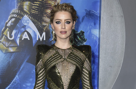 Amber Heard y Nicole Kidman brillan, con estilos muy diferentes, en el estreno de 'Aquaman' en Los Ángeles