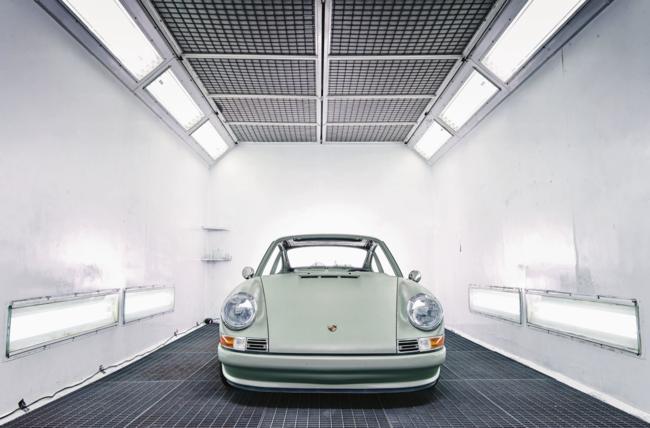Porsche eléctrico por encargo
