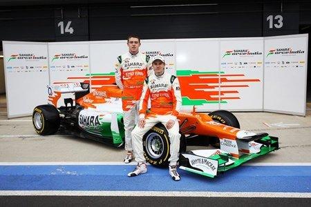 El Sahara Force India VJM05 sigue la línea marcada