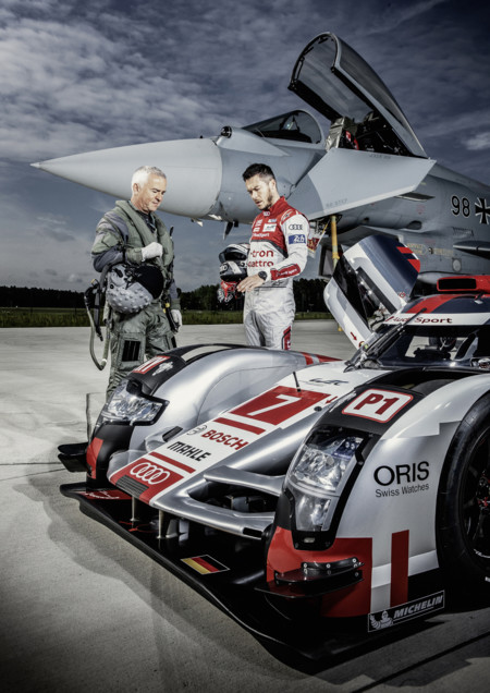 Audi R18 vs Eurofighter Typhoon
