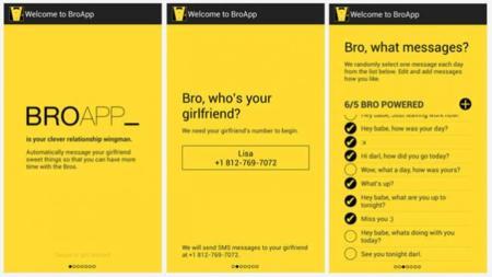 BroApp, la app que se encarga de agasajar a tu novia automáticamente por ti