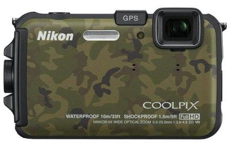 Nikon CoolPix AW100: llega la más dura de la compañía