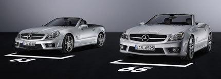Mercedes-Benz SL 63 AMG y SL 65 AMG