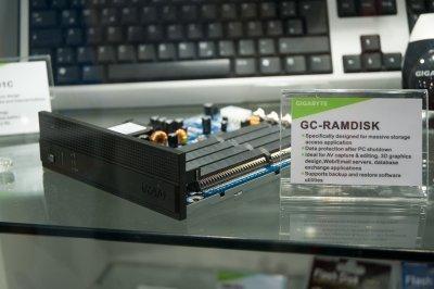 GC-RAMDISK, memorias de acceso ultrarrápido de Gigabyte