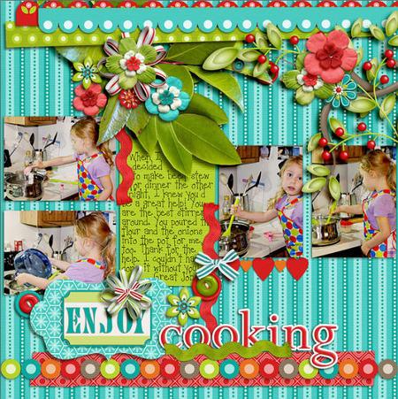 ¿Cómo guardar un bonito recuerdo de los momentos familiares en la cocina?