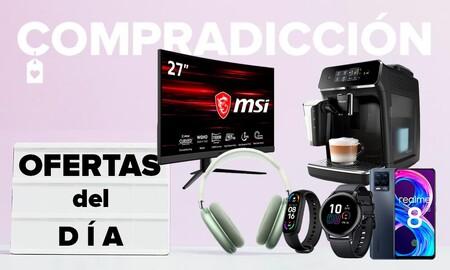 Ofertas del día en Amazon: monitores MSI y Samsung, smartwatches Apple y Realme, smartwatches Honor y cafeteras Philips a precios rebajados