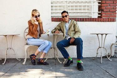 Calcetines estampados para vestir tus pies con un toque chic