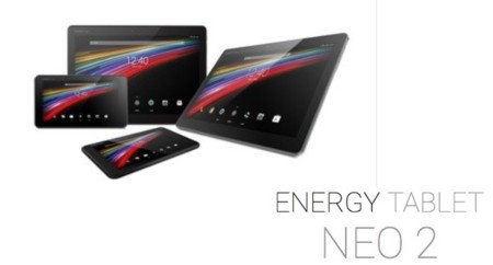 Energy Sistem Tablet Neo 2, familia de tablets a precio de saldo