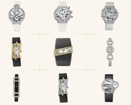 Catálogo relojes Cartier
