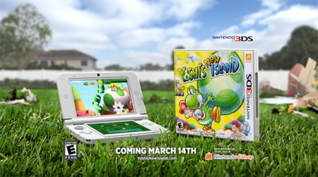 Comercial de TV de Yoshi's New Island
