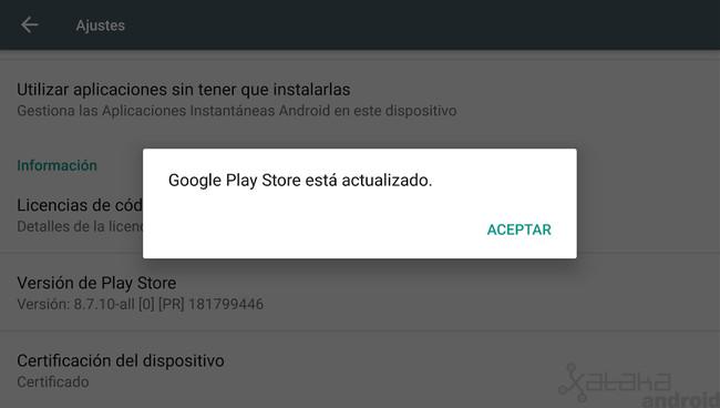 Play Store Actualizado