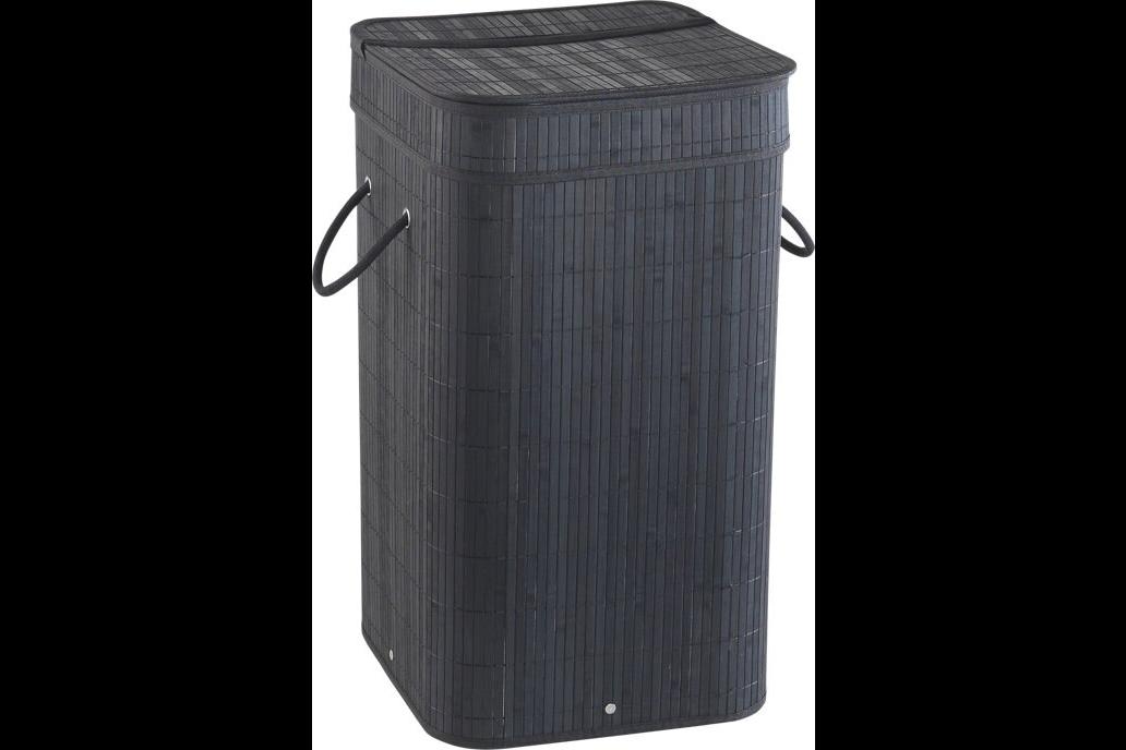 68L black Tatami laundry basket