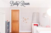 Preparando la habitación para el bebé