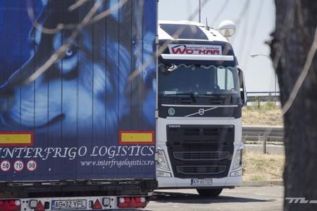 Camiones Fronteras Espana Francia