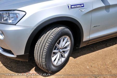 BMW X3 con Michelin Latitude Sport 3