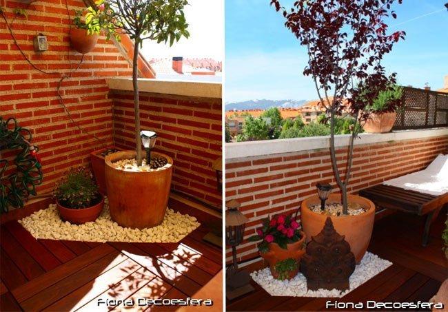 Imagenes de terrazas pequenas decoracion for Decoracion terrazas pequenas