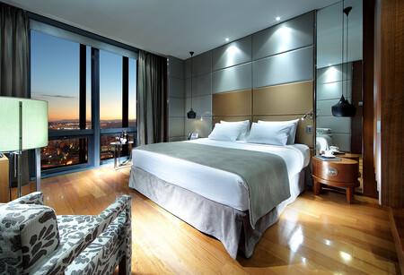 Habitacion Eurostars Madrid Tower